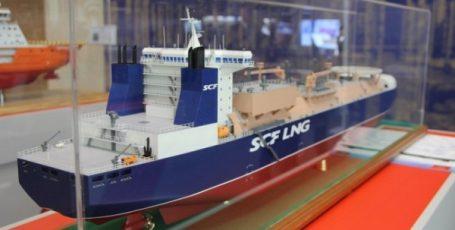 Ледовый класс Arc7: в РФ представили новейшее судно-газовоз