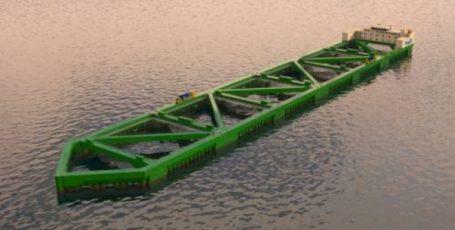 Гигантское судно-рыба: известны подробности сборки новейшей рыбофермы