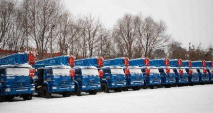 На газомоторном топливе: 52 новейших машины для «Газпрома» готовы